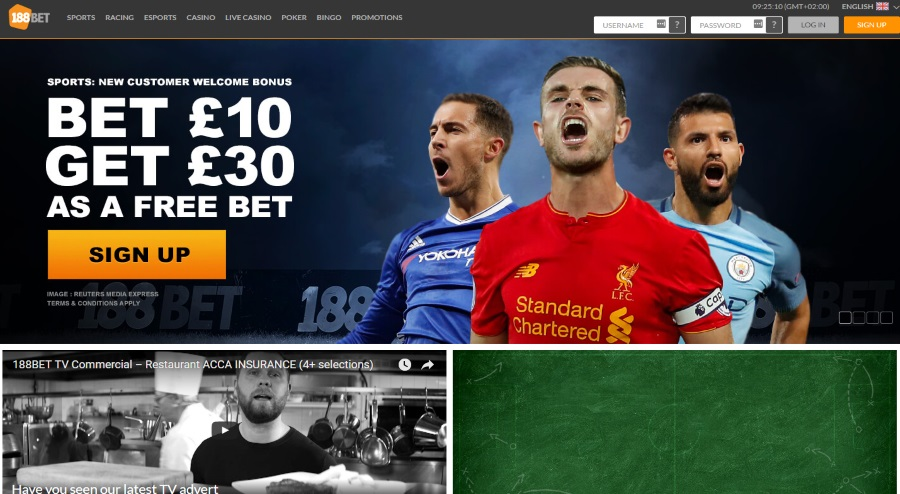 188bet.co.uk Home