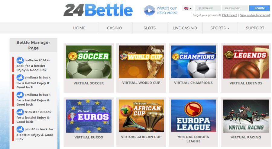 24Bettle Virtual Sports