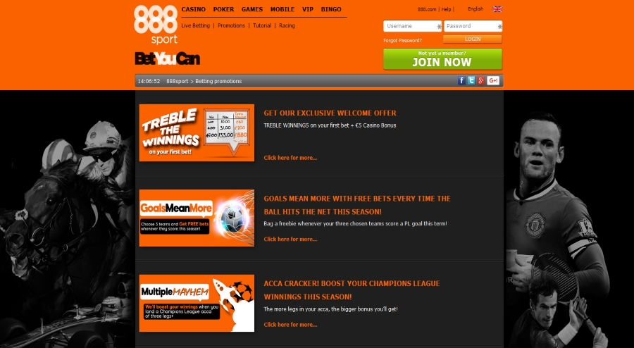 888sport promotions