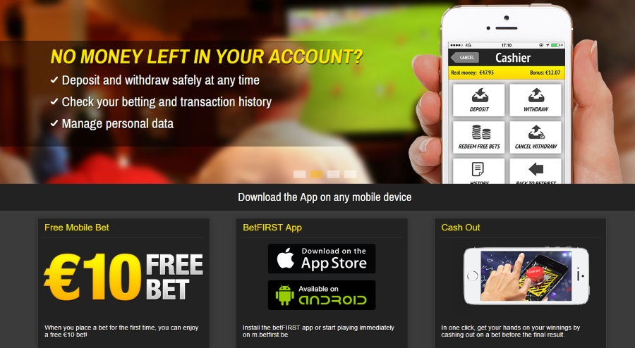 Betfirst Mobile App