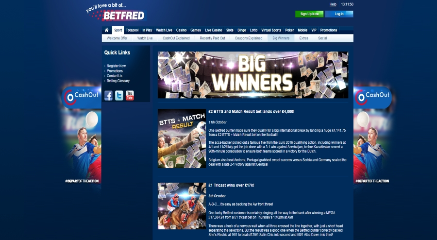 betfred big winners