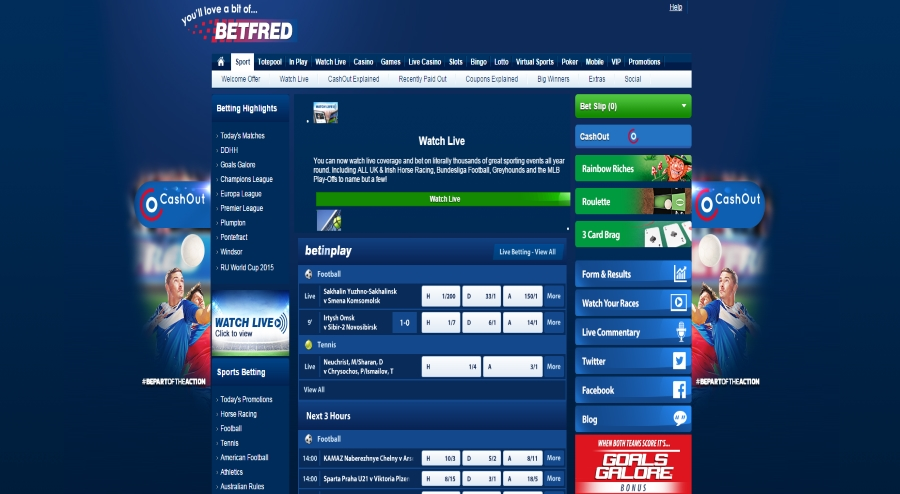 betfred watch live betstream