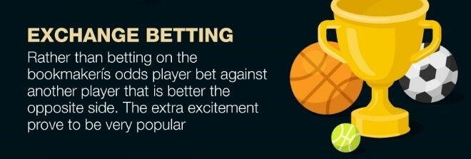Exchange betting - player vs player