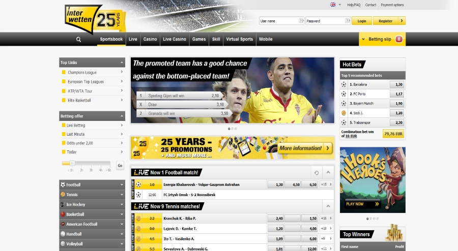 Interwetten home