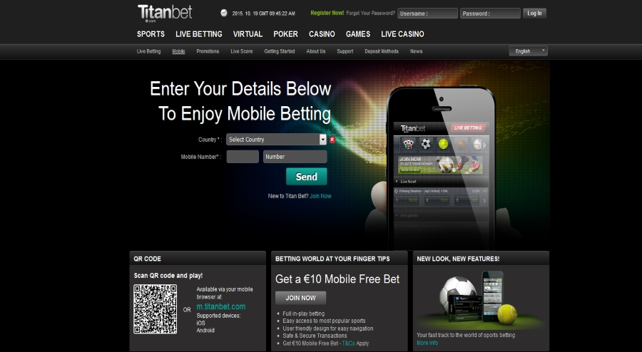titanbet sports mobile