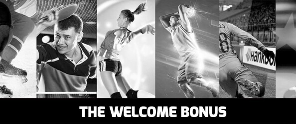 Sports betting welcome bonus